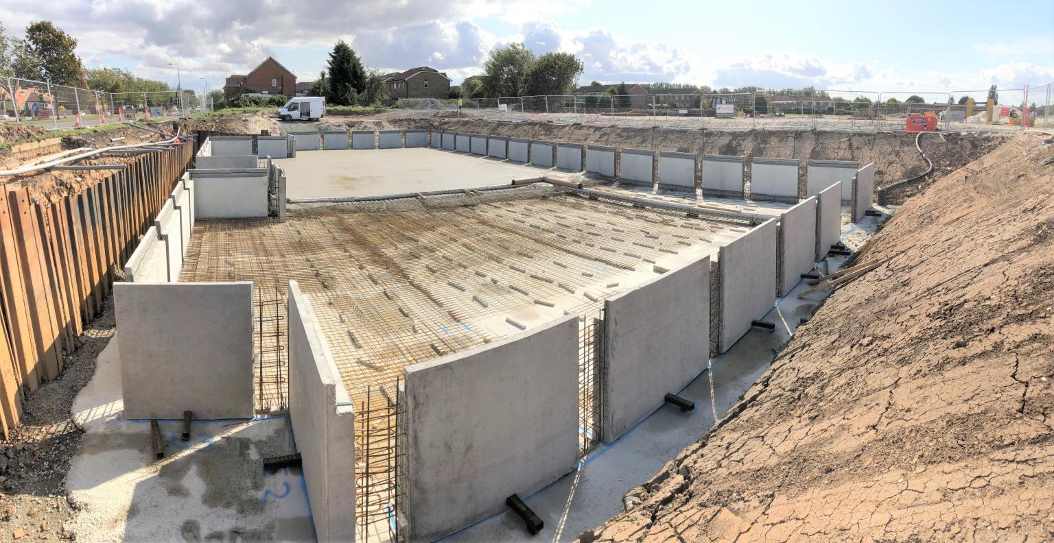Keepmoat Homes – Stormwater Attenuation Tank