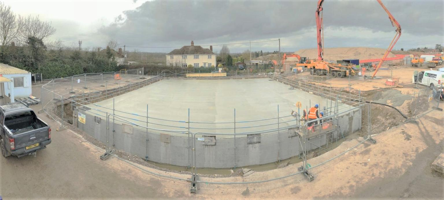 AD BLY Construction Ltd and Bellway Homes – Carlow Tank
