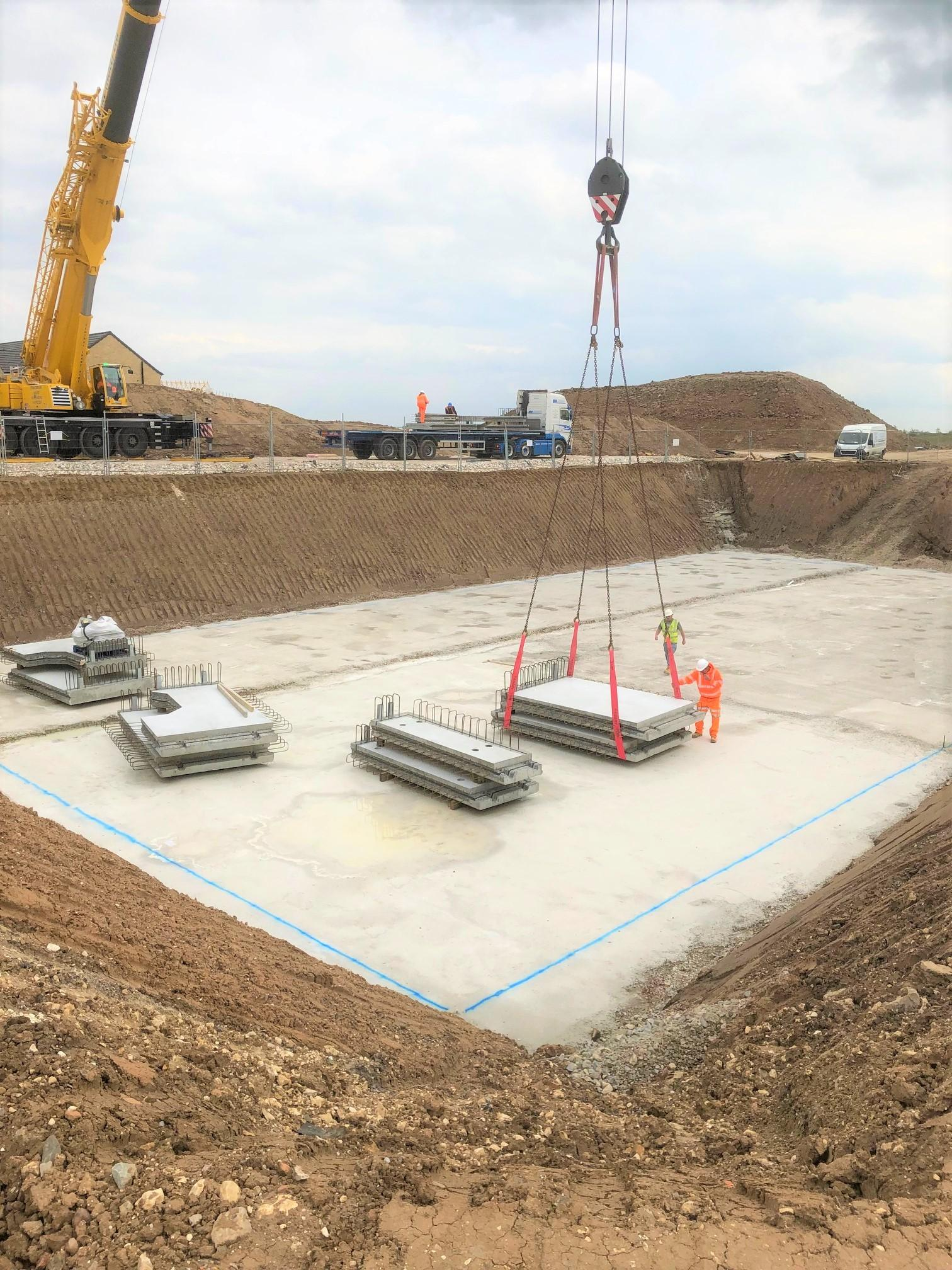 3.0m collection – Stormwater Attenuation Tank