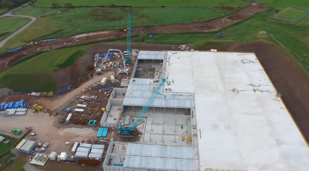 Largest Precast Reservoir in the UK & Europe!